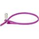 Hiplok Z-Lok Cykellås 40cm violett